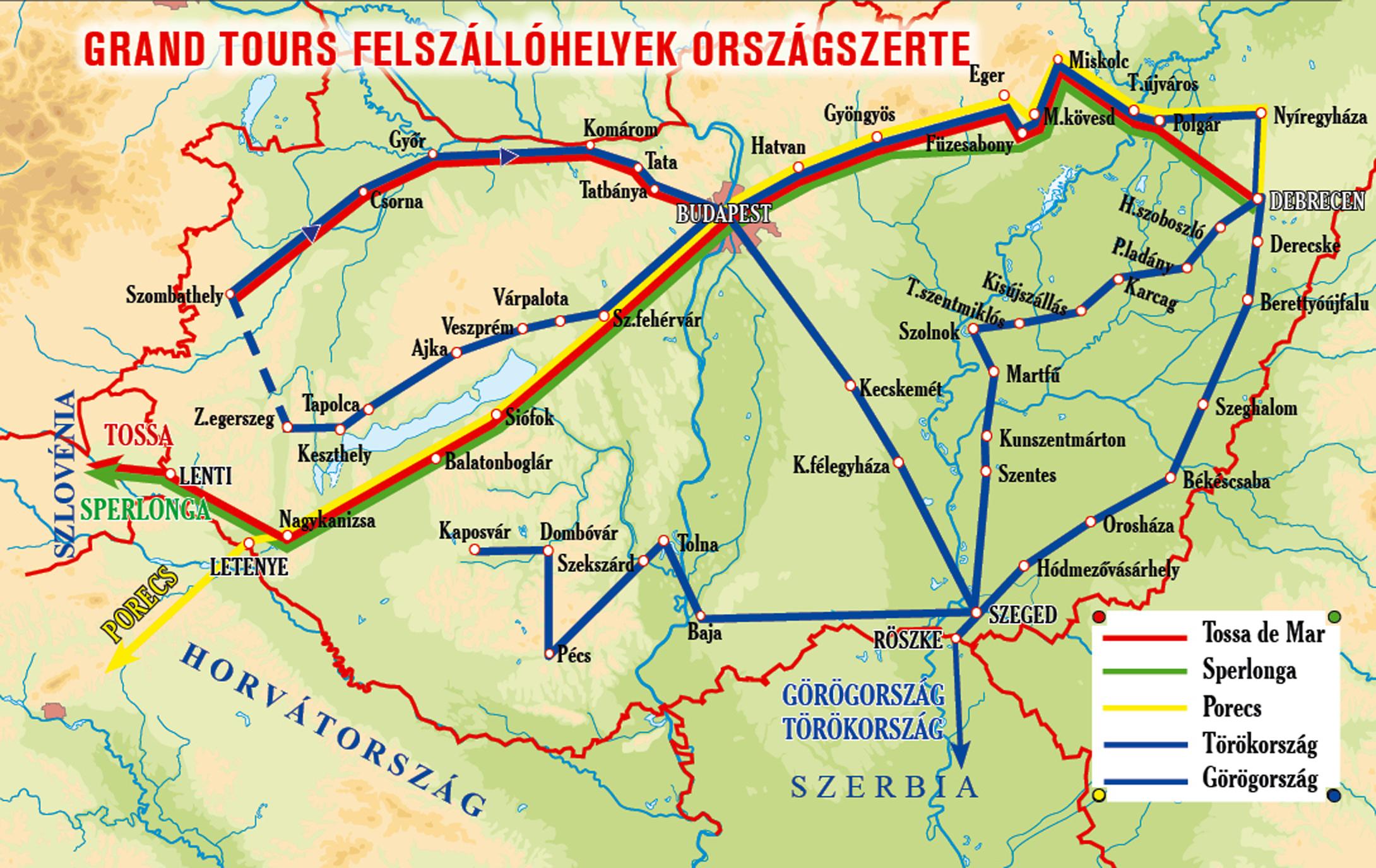 eger térkép buszmegállók Grandtours.hu   Görögország   Paralia eger térkép buszmegállók